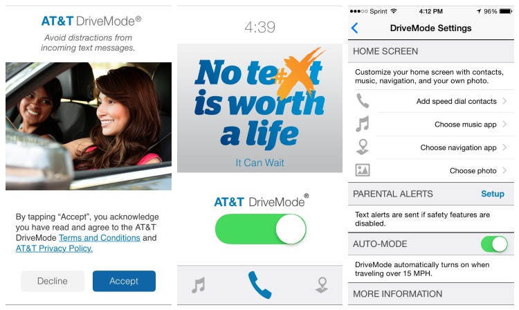AT&T DriveMode App It Can Wait 1