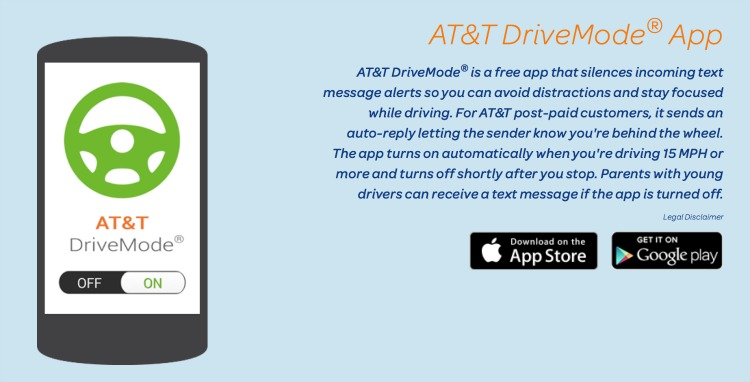AT&T DriveMode App It Can Wait 3