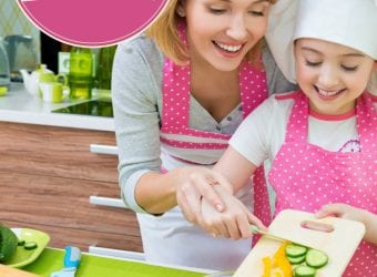 Cooking with Kids in the Kitchen