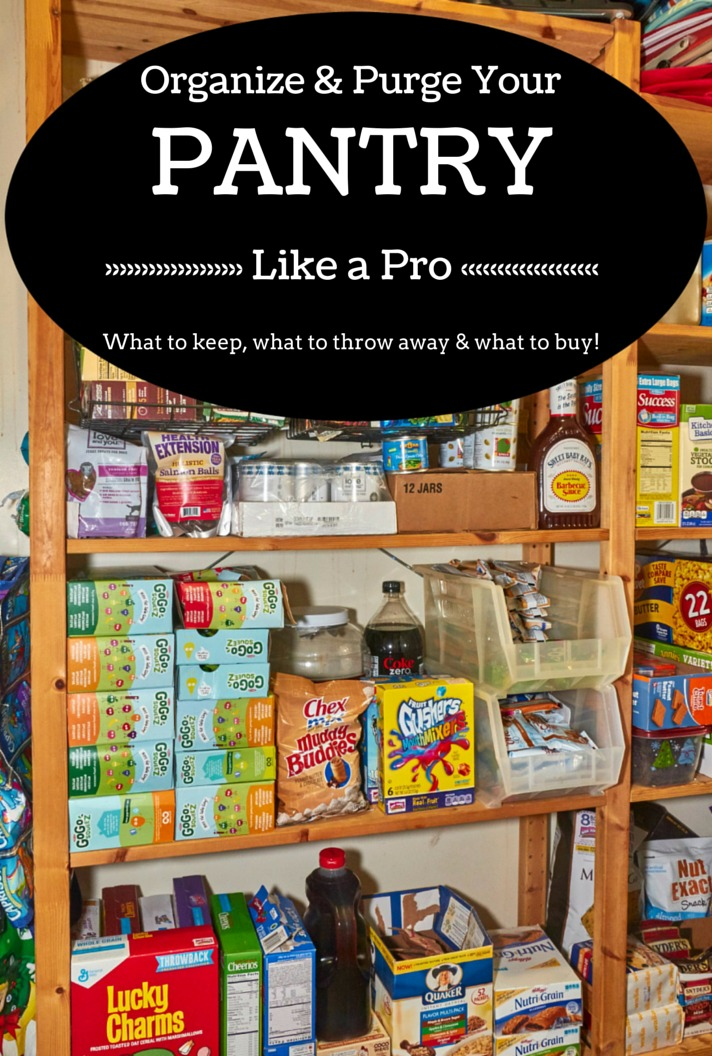 How to Organize & Purge Pantry