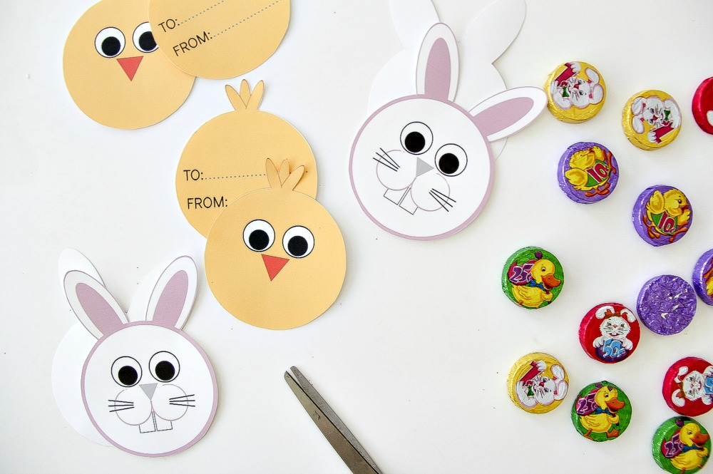 how to make paper packages for your Easter candy