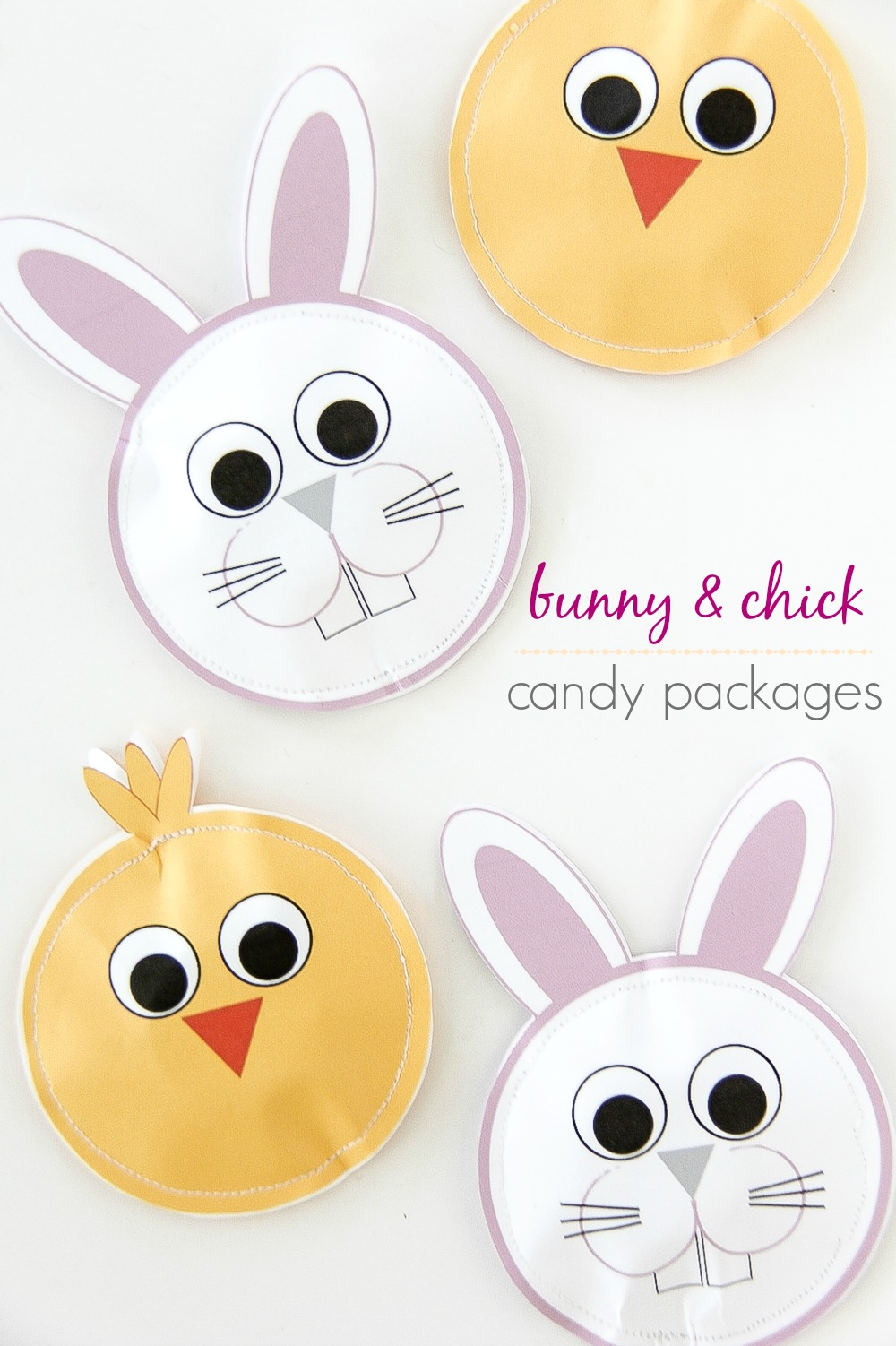 DIY Easter Candy Gift Packages for Kids