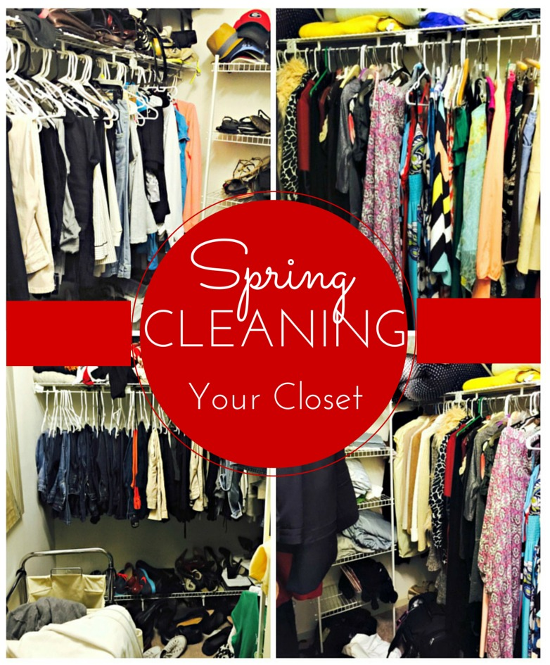 Spring Cleaning Your Closet