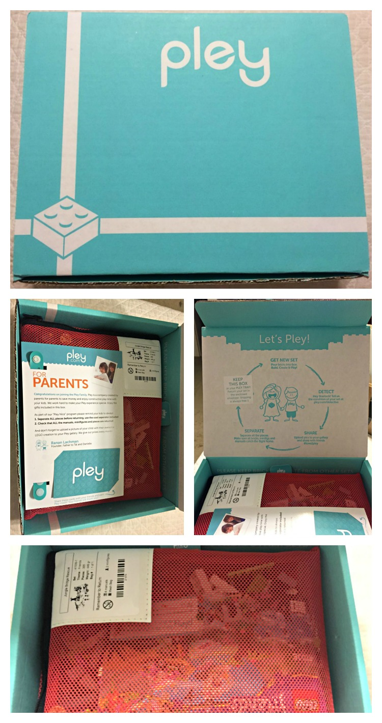 Pley LEGO Subscription Boxes