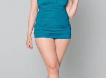 Sizzling Plus-Size Swimwear