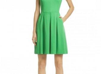 Trina Turk Kelly To My Green Dress – $40.00 Spring Wedding wear Dress Rent the Runway