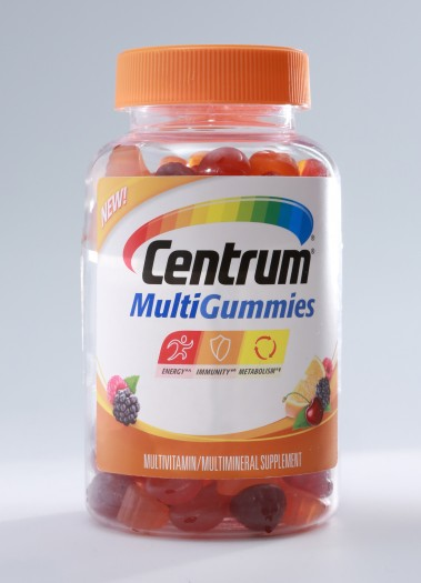 Centrum® MultiGummies Gives You Vitamins & Nutrients