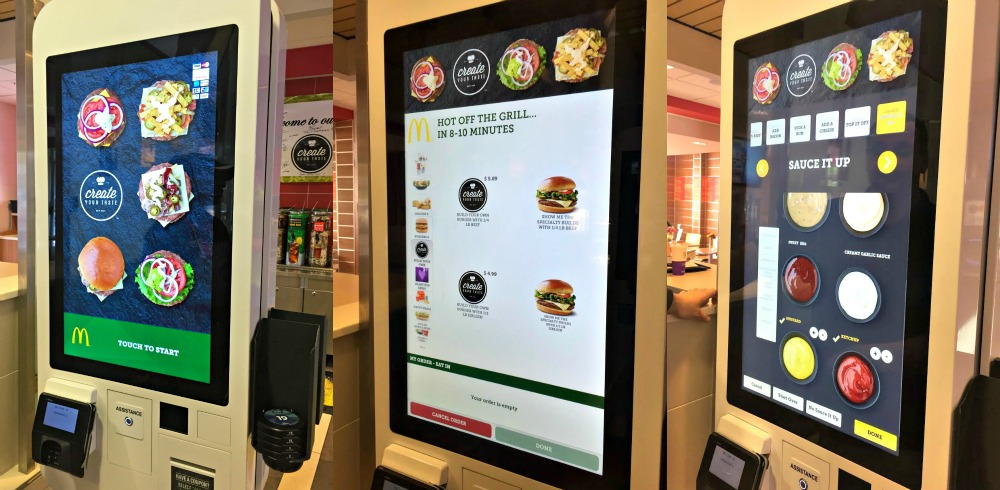 McDonalds Create Your Taste Ordering System