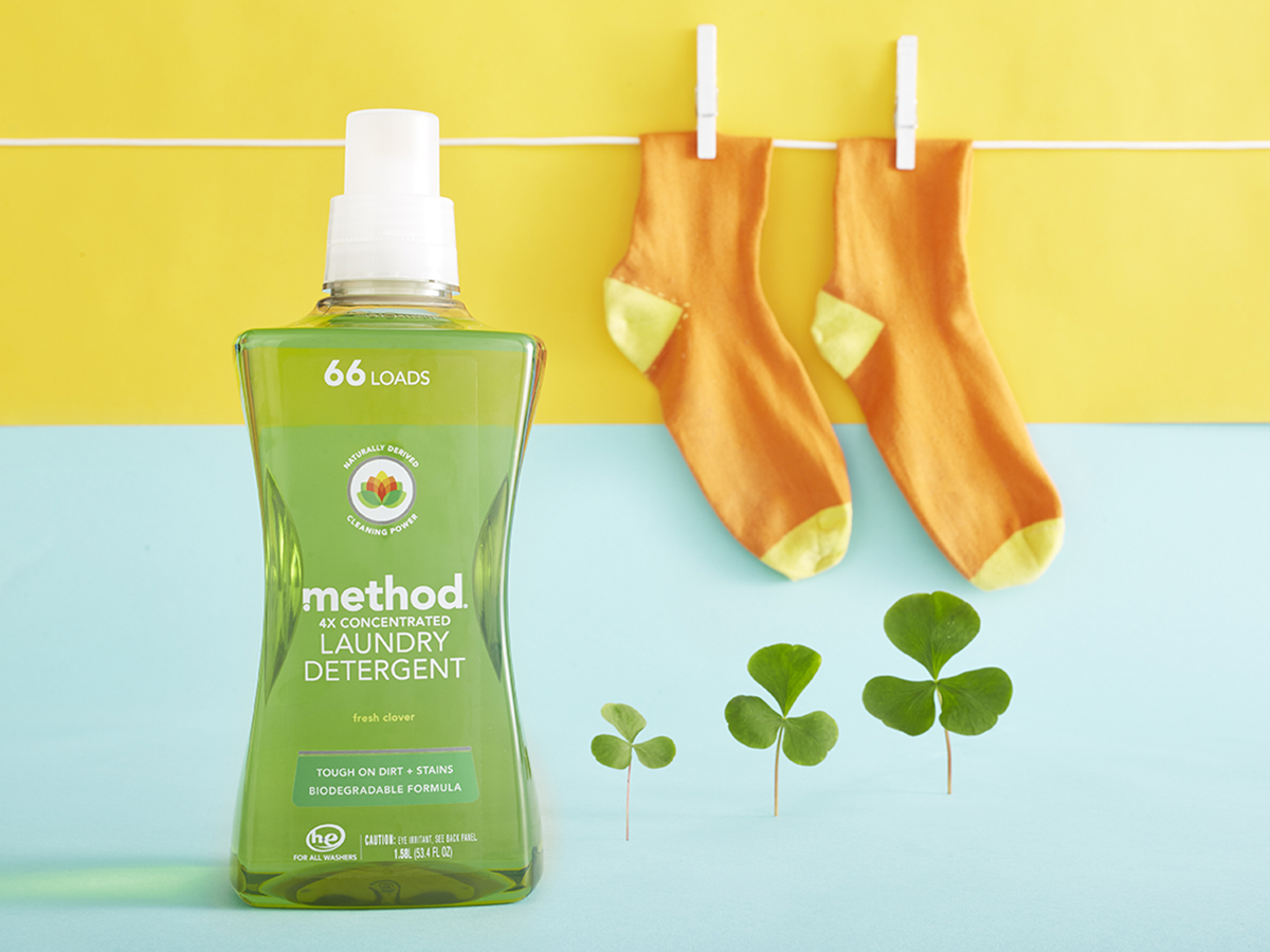 Method 4x Laundry Detergent Amazing Scent Without Strong