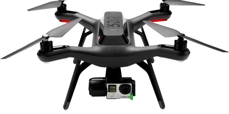 3D Robotics Solo Drone at Best Buy 4