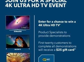 Best Buy 4K Ultra HD In-Store Events