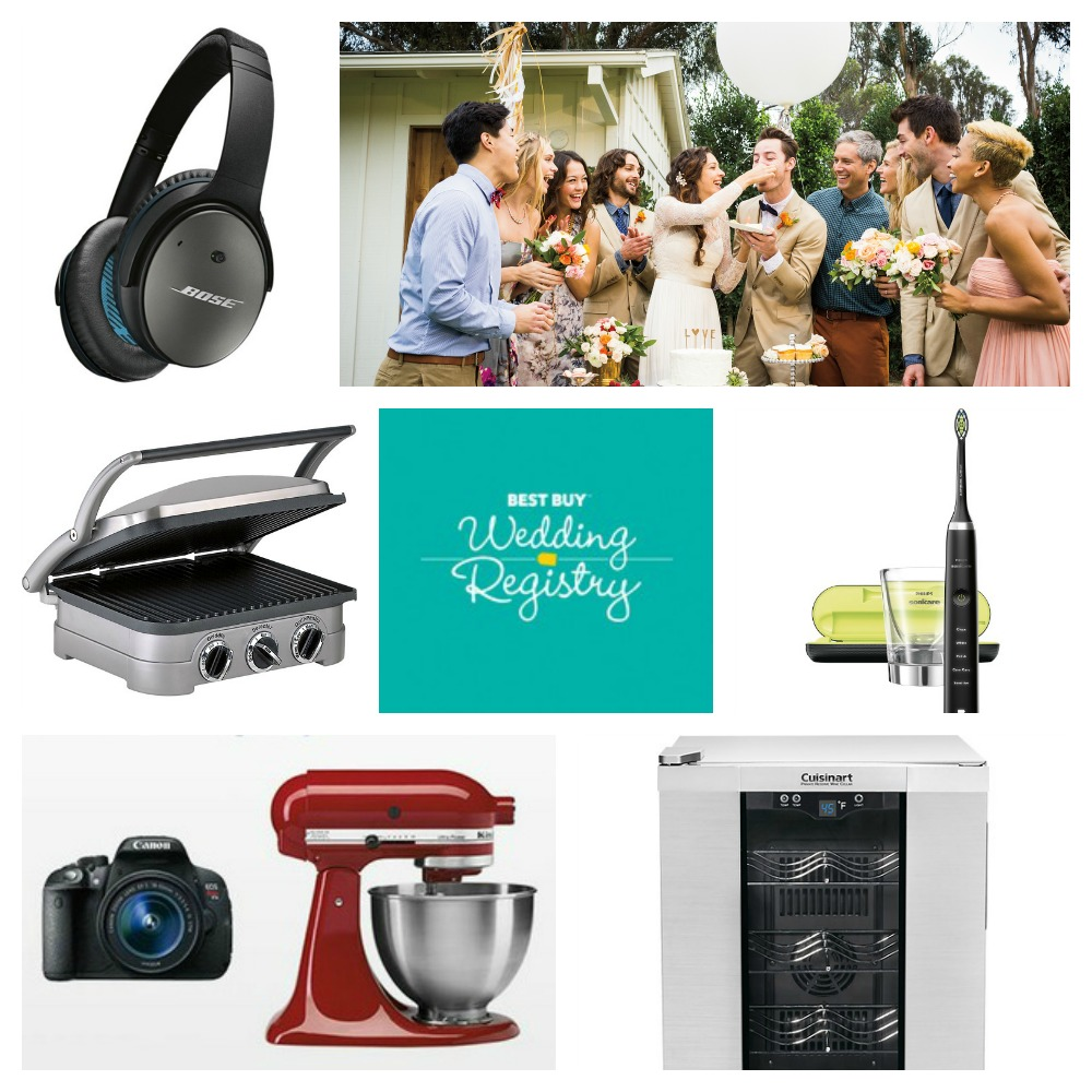 Best Buy Wedding Registry Do It All Online or Instore