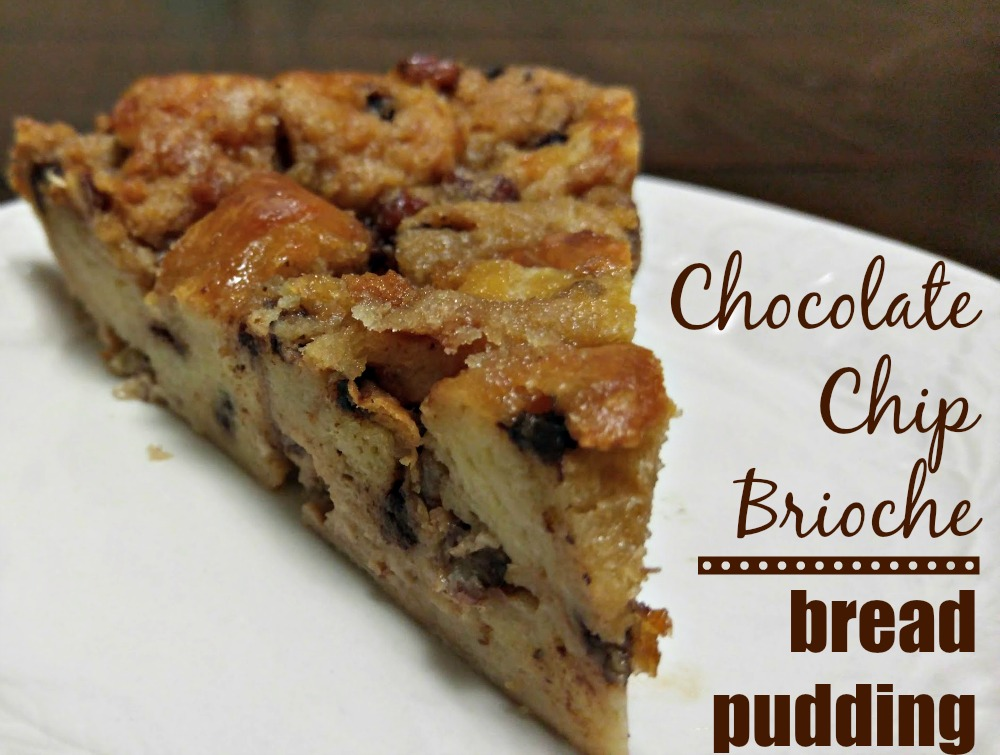 Chocolate Chip Brioche Bread Pudding Recipe #betterwithbrioche
