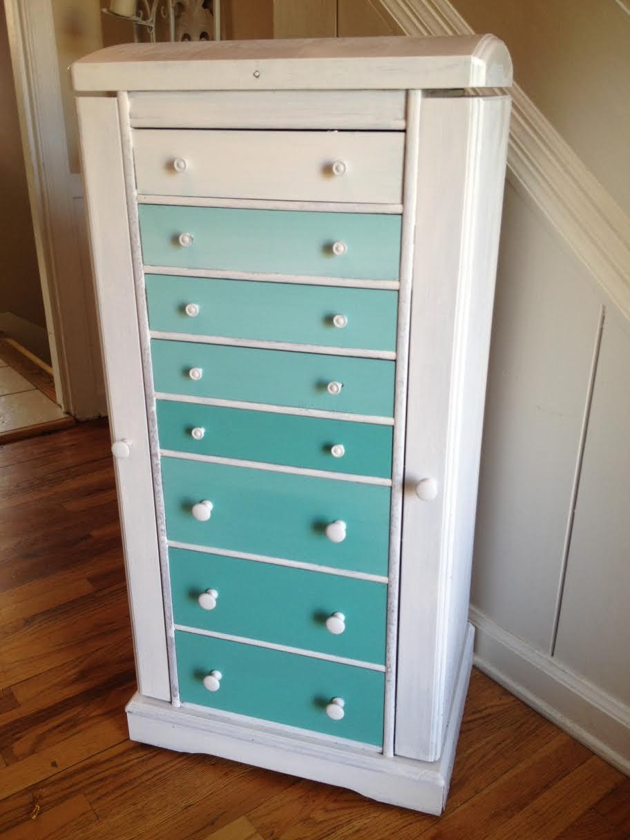 DIY Ombre Dresser 4