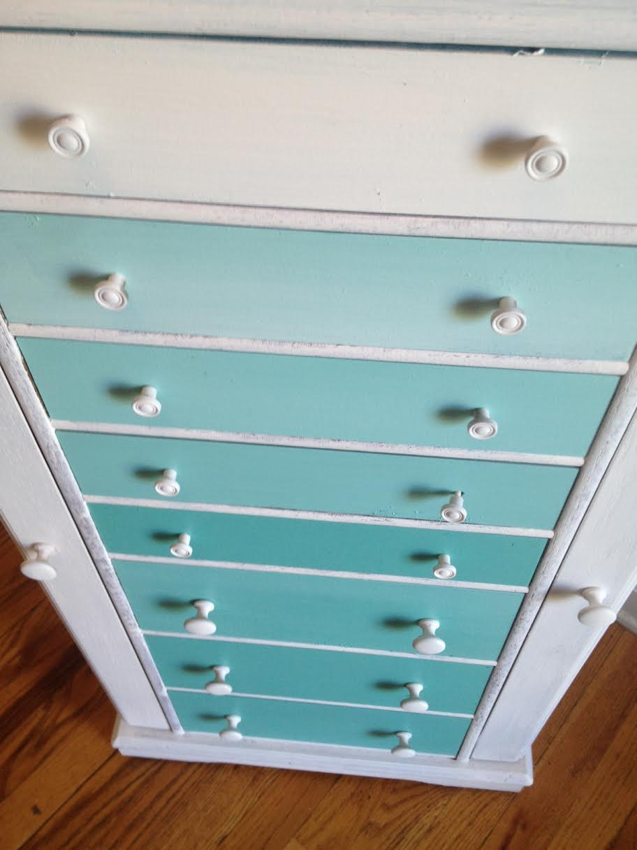 DIY Ombre Dresser 5