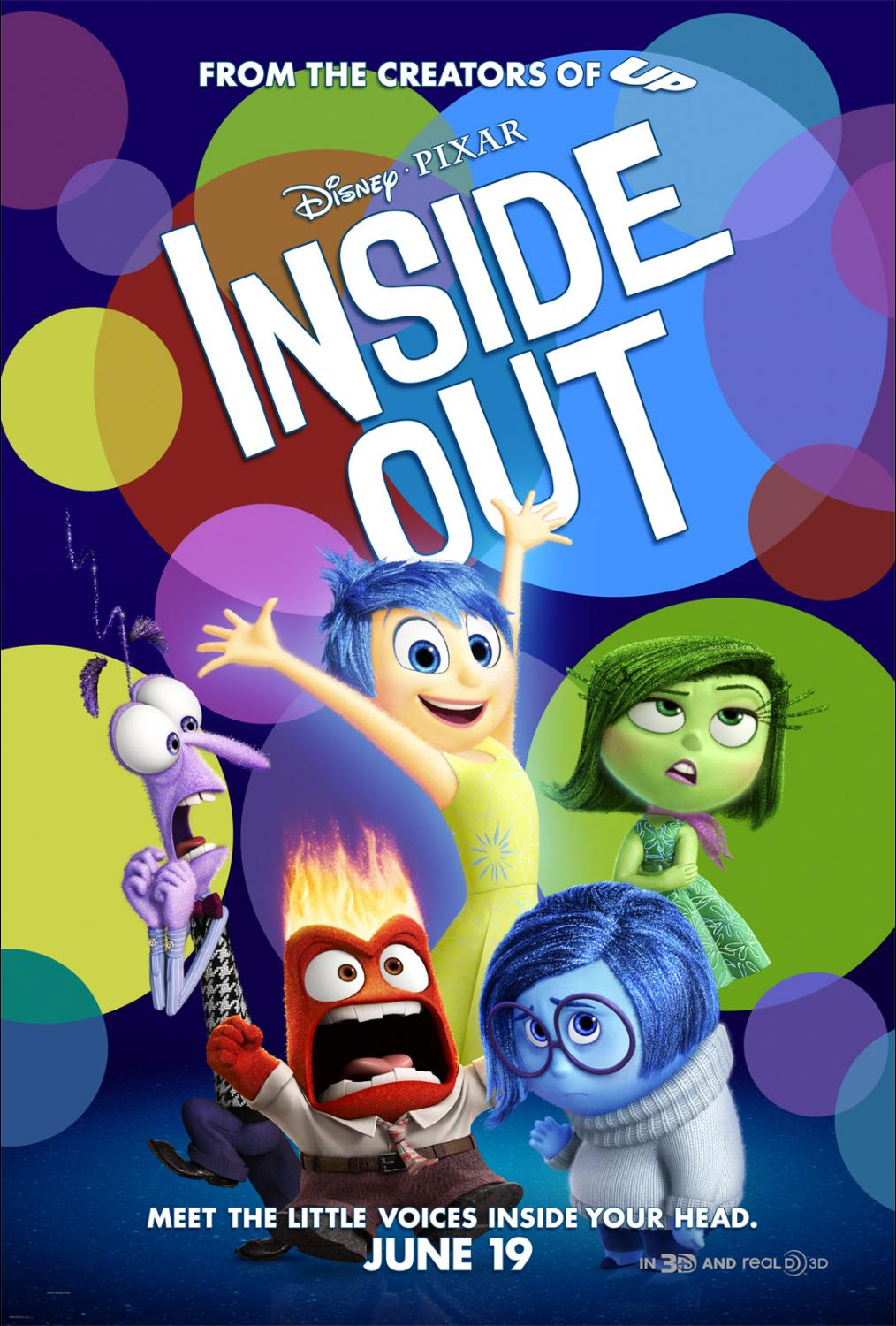 Disney Pixar Inside Out Review