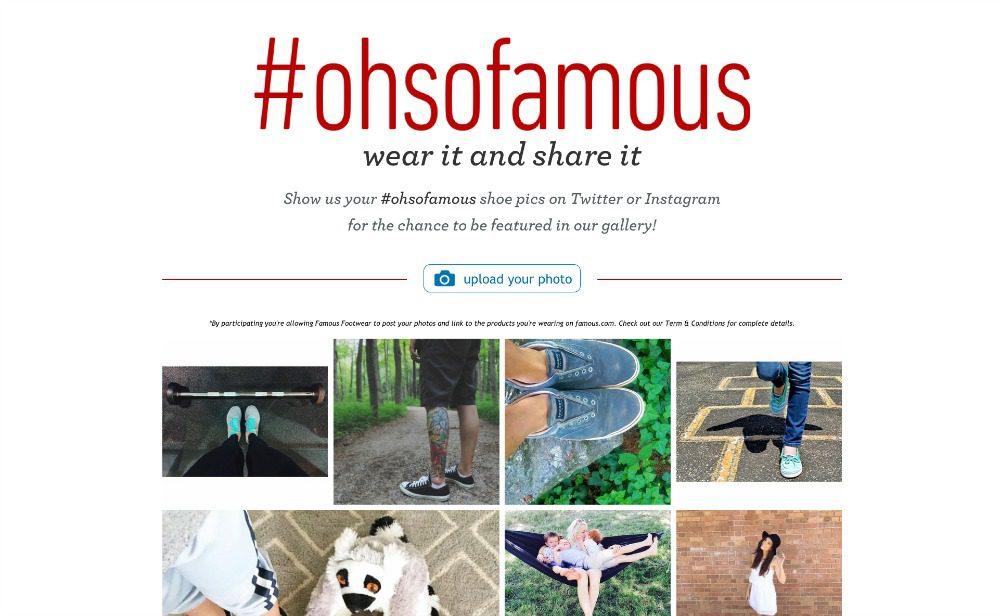 Famous Footwear #ohsofamous