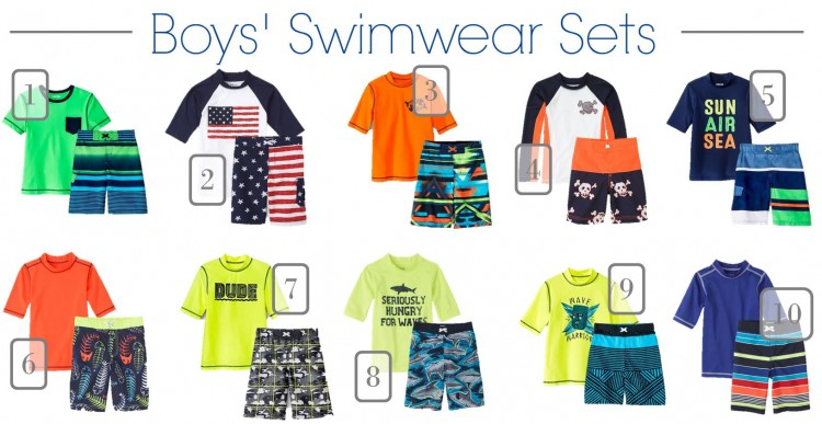Kids Swimwear Boys