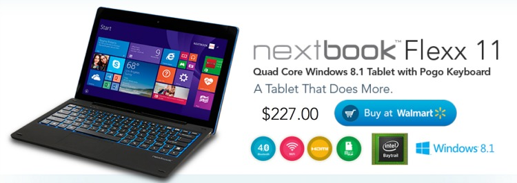 Nextbook Flexx 11 2-in-1 at Walmart Tablet Review