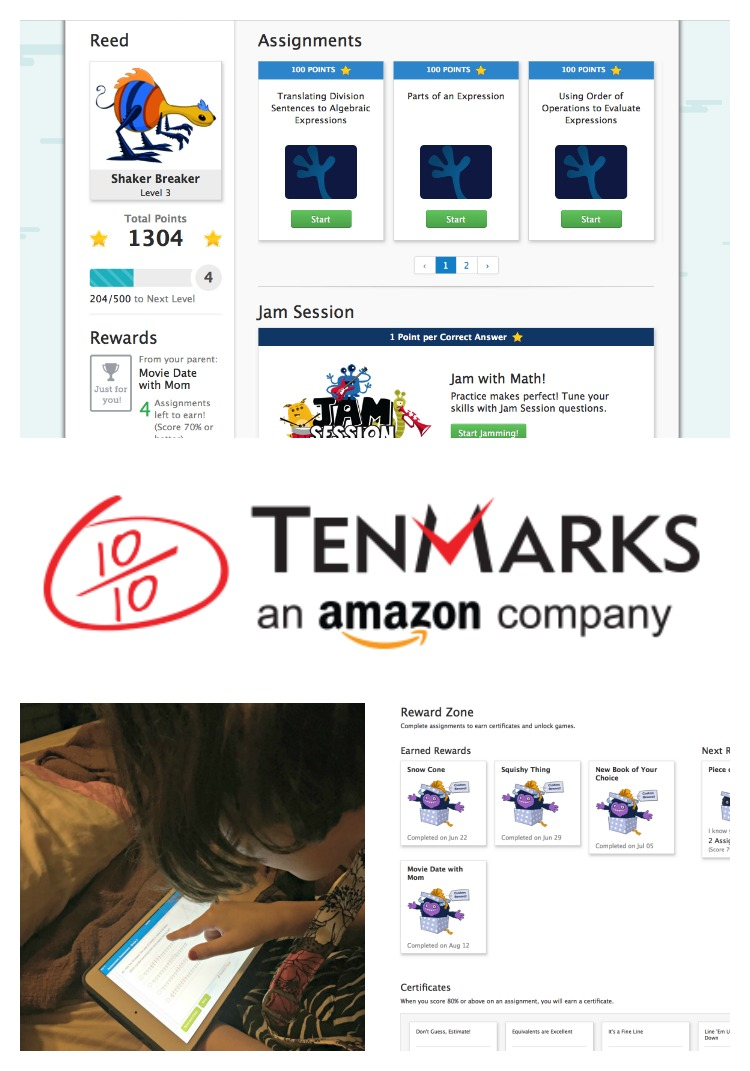 TenMarks Summer Math Program