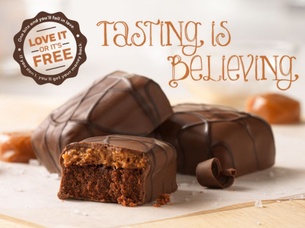 Weight Watchers Salted Caramel Brownies Tasting is Believing 2