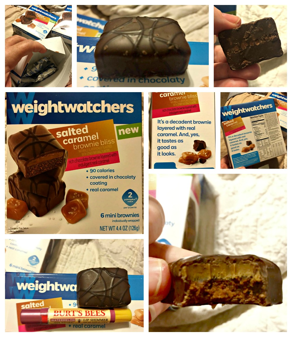 Weight Watchers Salted Caramel Brownies Tasting is Believing 3