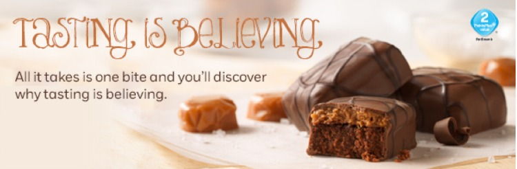 Weight Watchers Salted Caramel Brownies Tasting is Believing