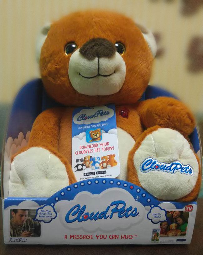 CloudPets™ Help Parents Connect with Kids #CloudPets