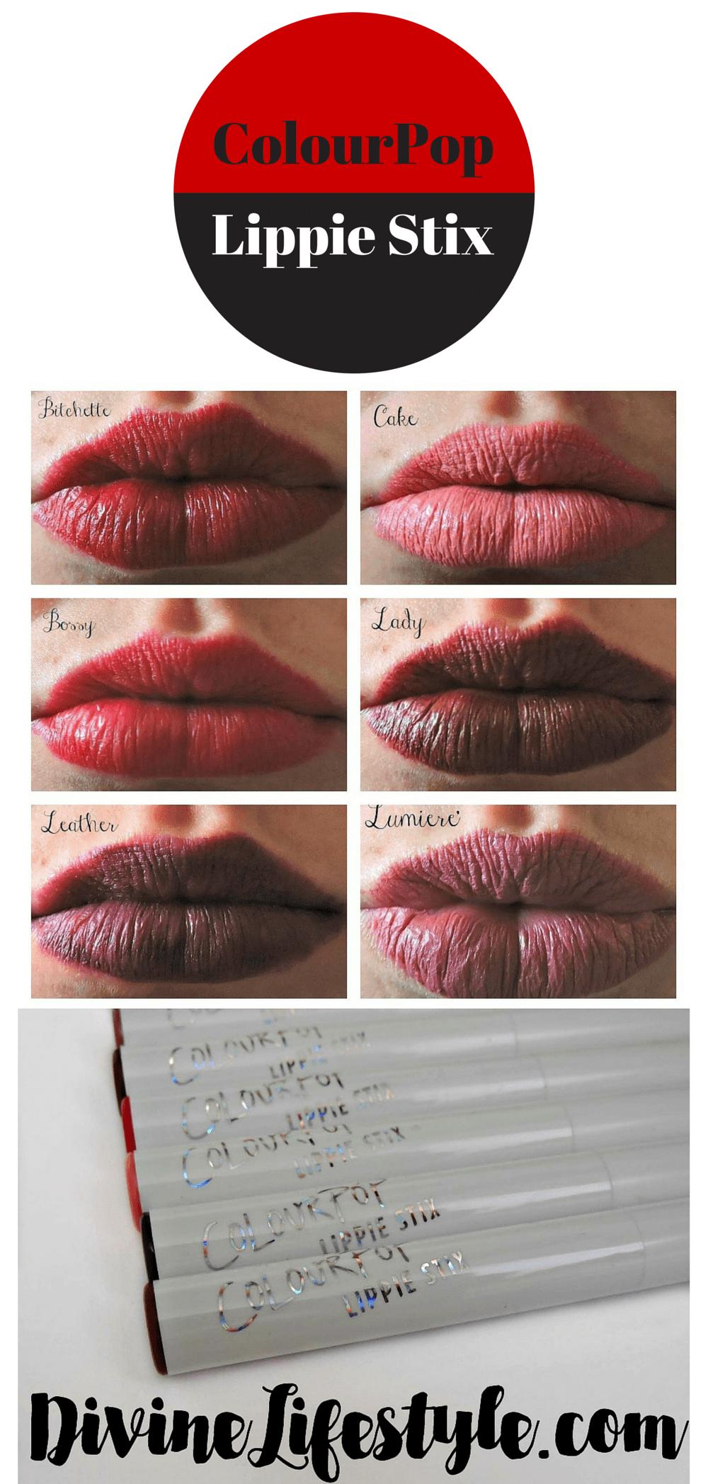 ColourPop Lippie Stix Lipstick Review