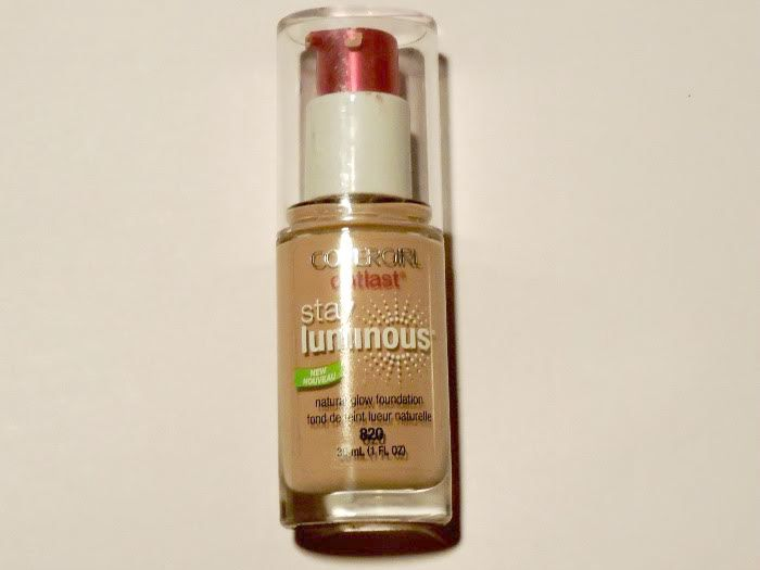 Covergirl Outlast Stay Luminous Natural Glow Foundation Review 1