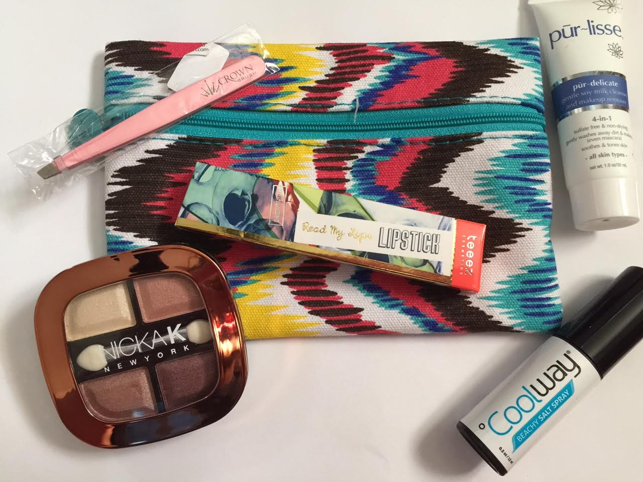 Ipsy Glam Bag Reveal July 2015 #beauty #ipsy #makeup #style
