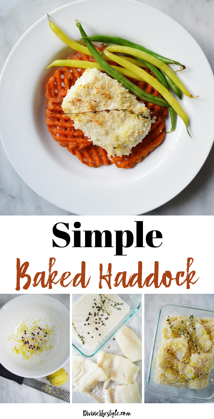 Quick and Easy Baked Haddock Recipe