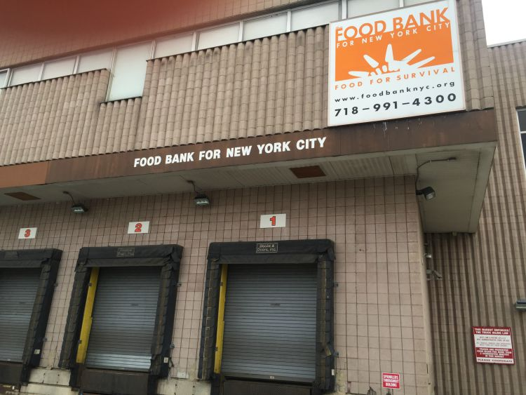 A Visit to the Food Bank for New York City #FacesBehindHunger