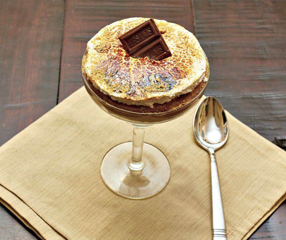Hershey's Milk Chocolate S'more Parfait Recipe