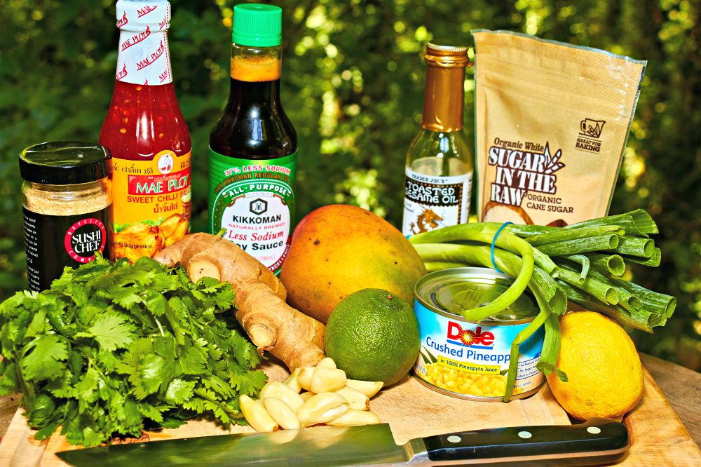 Grilled Island Pork Chops Recipe Ingredients