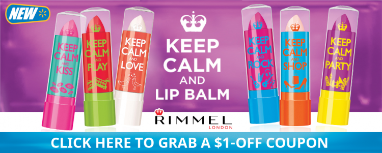 Rimmel Keep Calm And Lip Balm Coupon