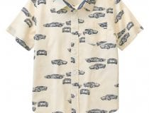 Auto Crew- Racing Themed Clothes for Boys from Gymboree Race Car Shirt