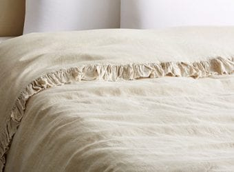 Five-Star Hotel Style at Home Tat Linen Duvet Cover