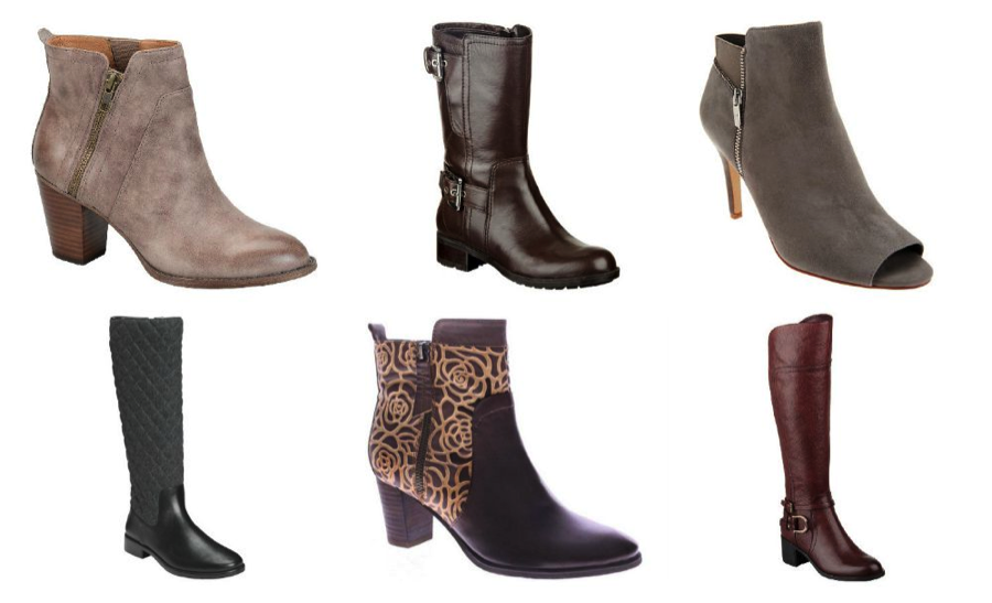 Go Back to School with Easy Pay Every Day with your QCard from QVC #QVC Boots for Fall