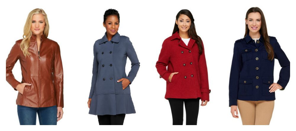Go Back to School with Easy Pay Every Day with your QCard from QVC #QVC QVC Coats