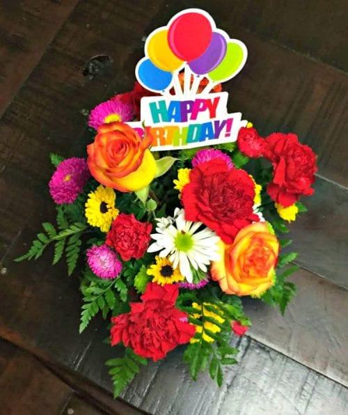 Celebrate Birthdays With The Teleflora Fun N Festive Bouquet FunFestiveBday