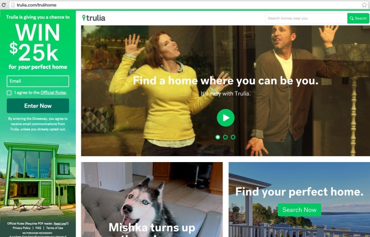 Trulia Makes Finding Home Easy & Enjoyable + Enter to Win $25K #TruliHome