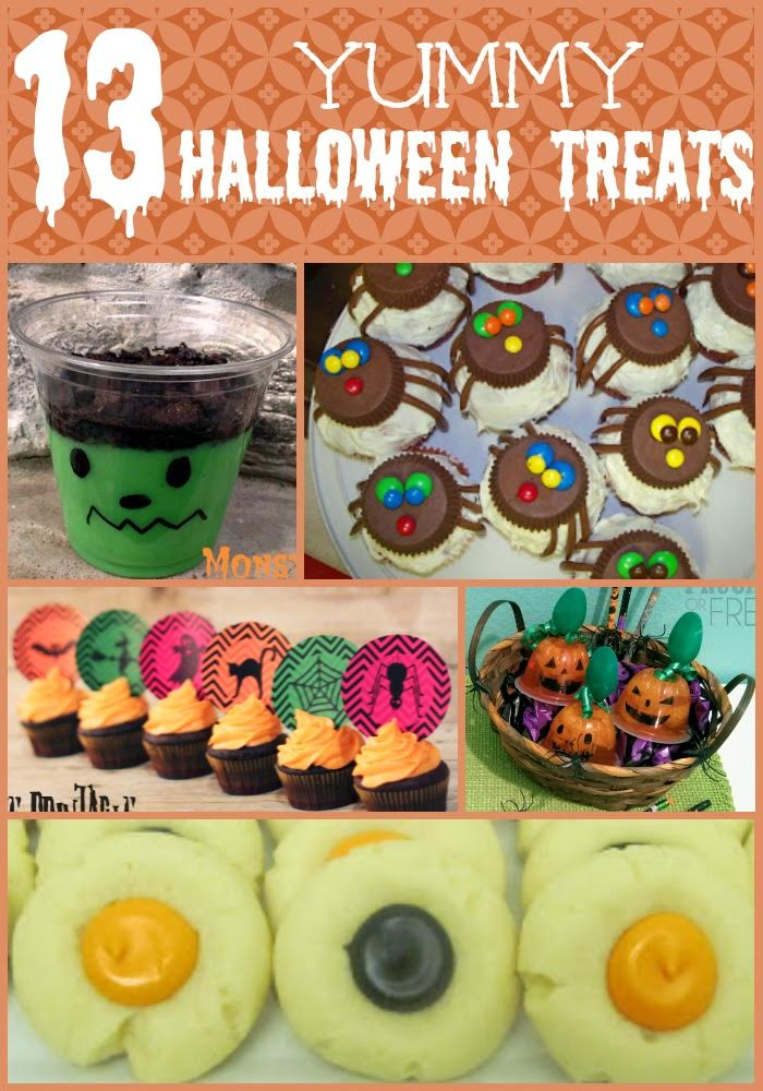 13 Yummy Halloween Treats
