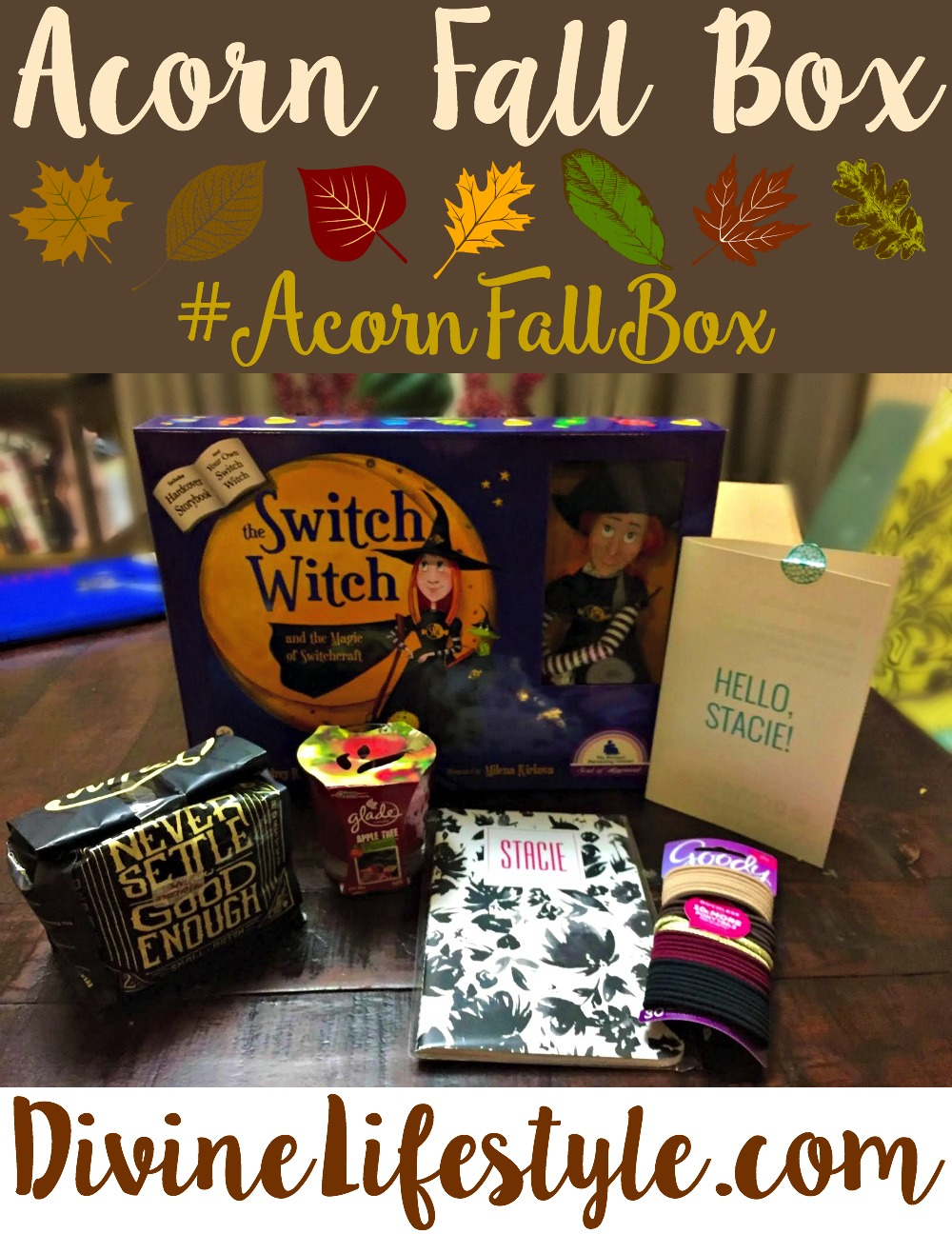 Acorn Fall Box #AcornFallBox