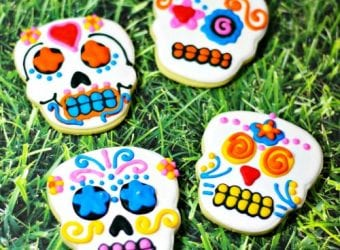 Day of the Dead Sugar Skull Cookies 1