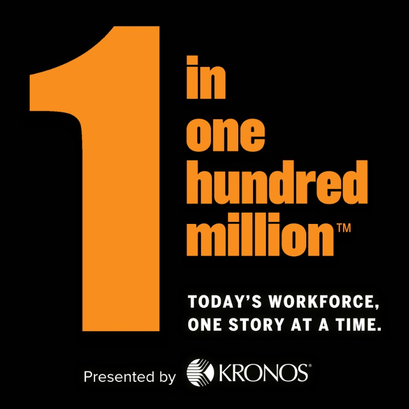 Are you 1 in one hundred million? #WorkforceStories #1in100MM