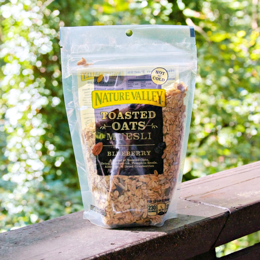 Nature Valley Toasted Oats Muesli Blueberry