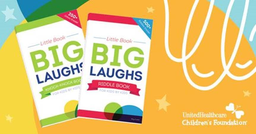 Children's Joke Books Raise Funds to Help Families Pay for Child Medical Expenses #UHCCFjokes