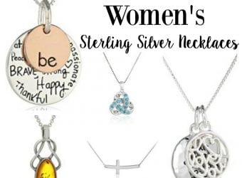 Amazon Best Selling Womens Sterling Silver necklaces