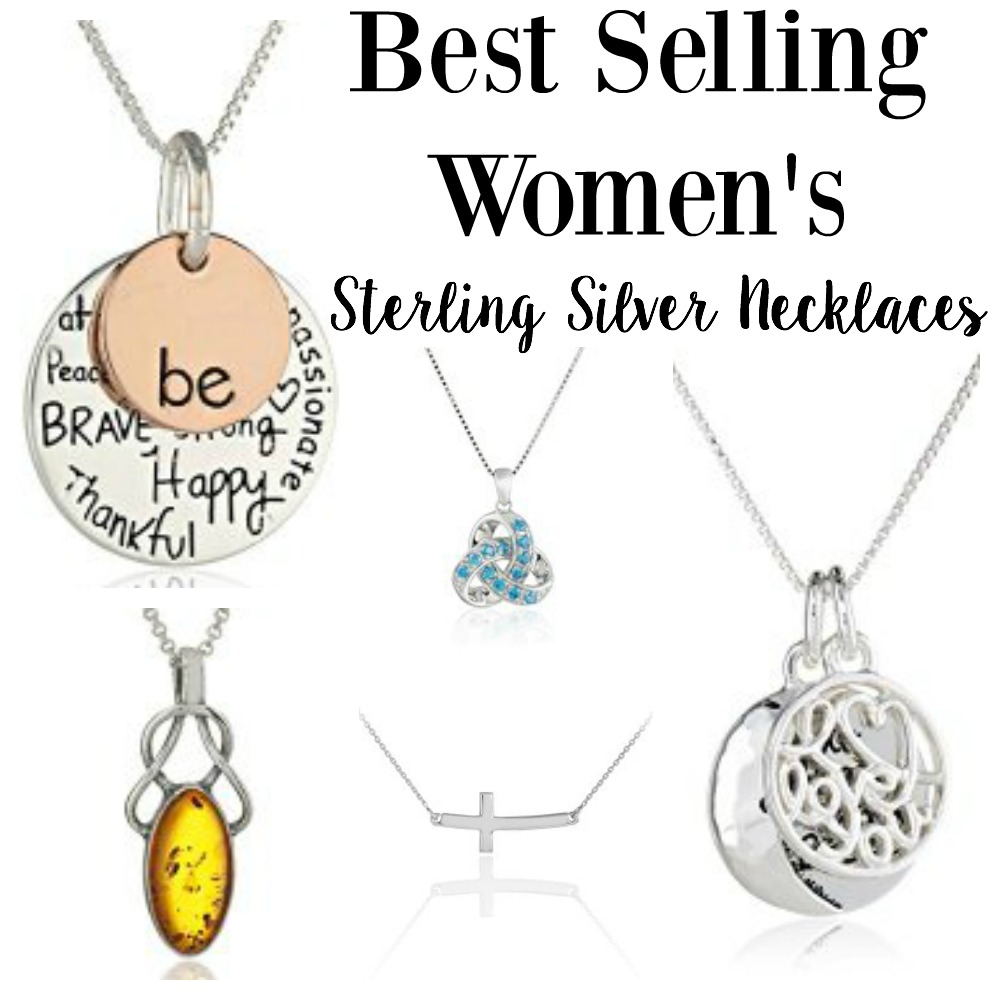 Best Selling Women S Sterling Silver Necklaces